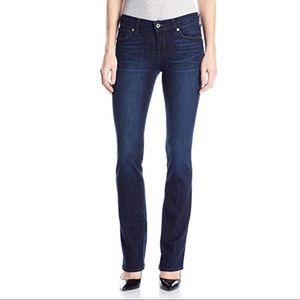 "Lucky Brand Brooke Boot Dark Wash Denim Jeans 32"""